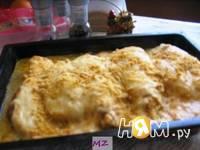 Приготовление куриного филе под шубой: шаг 6