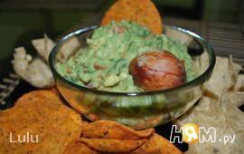 """Дип из авокадо """"Гуакамоле"""""""