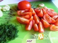 Приготовление салата Тереза: шаг 4