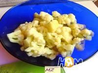 Приготовление салата Тереза: шаг 5