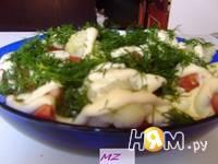 Приготовление салата Тереза: шаг 6
