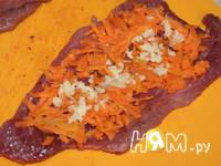 Приготовление рулетиков из говядины: шаг 7