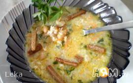 Необычный суп с фасолью