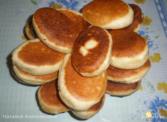 Пирожки жареные, постные