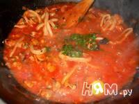 Приготовление спагетти с морепродуктами: шаг 15