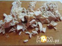 Приготовление салата с куриным филе и грейпфрутом: шаг 1