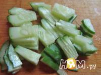 Приготовление салата с куриным филе и грейпфрутом: шаг 2
