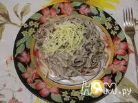 Приготовление спагетти с морепродуктами и грибами: шаг 6