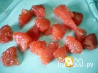 Приготовление куриного салата с грейфрутом: шаг 2