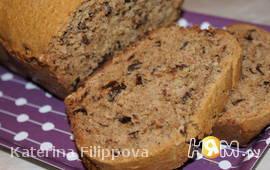 Хлеб с черносливом и орехами