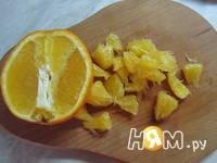 Приготовление фруктового салата Игра красок: шаг 5