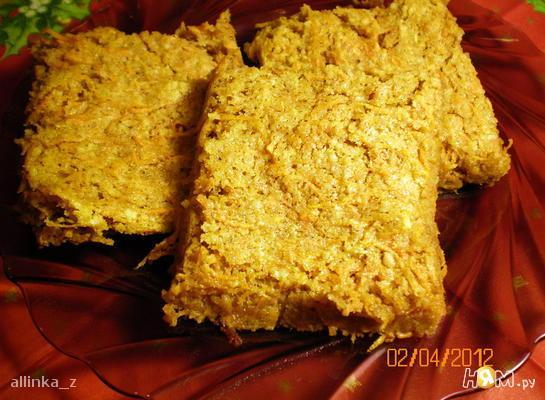 Морковно-ореховое печенье