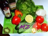 Приготовление салата весеннего: шаг 1