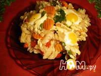 Приготовление запеканки с перепелиными яйцами: шаг 6