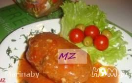 Зразы фаршированные грибами от MZ