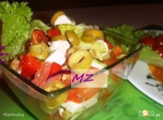 Рецепт Шопский салат от MZ