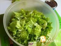 Приготовление шопского салата: шаг 1