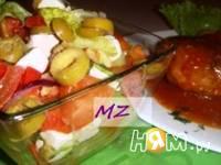 Приготовление шопского салата: шаг 6