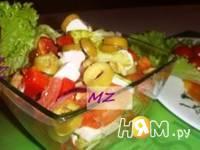 Приготовление шопского салата: шаг 7