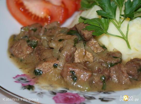 Рецепт Говядина по-фламандски