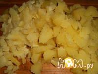 Приготовление салата по-португальски: шаг 3