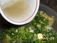 Приготовление салата по-португальски: шаг 5