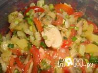 Приготовление салата по-португальски: шаг 6