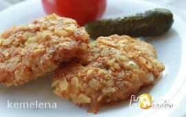 Куриное филе в панировке из чипсов