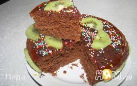Пирог в микроволновке за 8 минут