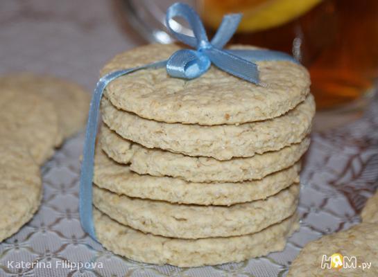Рецепт Шотландское овсяное печенье