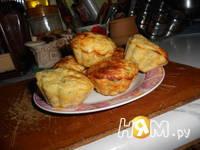 Приготовление сырных маффин: шаг 10