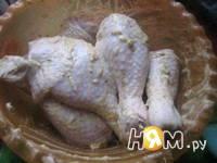 Приготовление курочки с картошкой по-особому: шаг 2