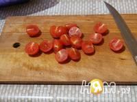 Приготовление красного креветочно-овощного салат: шаг 5