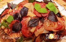 Филе индейки со специями и помидорами