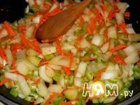 Приготовление сливочного супа из морепродуктов: шаг 7