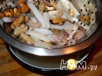 Приготовление сливочного супа из морепродуктов: шаг 8