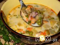 Приготовление сливочного супа из морепродуктов: шаг 14
