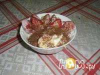 Приготовление клубнично-бананового десерта с йогуртом: шаг 1