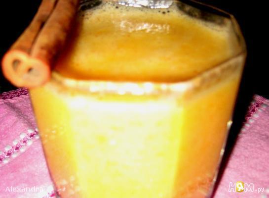 Рецепт Смузи с бананом и мандарином