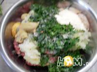 Приготовление голубцов в шпинате: шаг 3