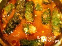 Приготовление голубцов в шпинате: шаг 11