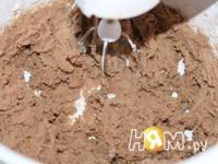 Приготовление пирога с творожным кремом: шаг 3