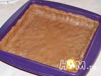 Приготовление пирога с творожным кремом: шаг 4