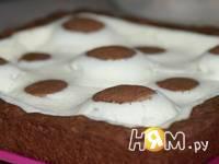 Приготовление пирога с творожным кремом: шаг 8