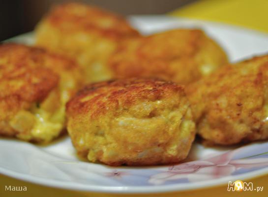 Рубленые котлеты с сыром