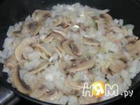 Приготовление картофельного рулета с грибами: шаг 3
