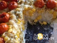 Приготовление рисовой запеканки с кукурузой и черри: шаг 7