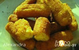 Картофельные палочки с начинкой