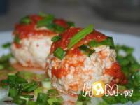 Приготовление куриных тефтелей в томатном соусе: шаг 6