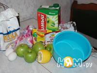Приготовление яблочного пирога: шаг 1